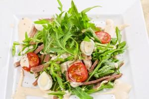 Новогодний салат из языка