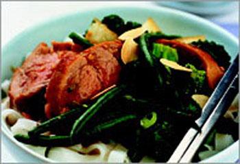 Свинина в сливовом соусе (Китайская кухня)